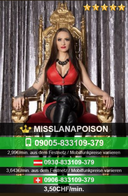 Miss Lana Poison - The Real High Class Domination - Bizarr-Domina - Weinheim - Mannheim